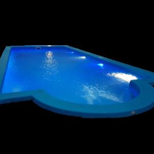 Pileta Romana de 7.00×3.35×1.25a1.75 mts